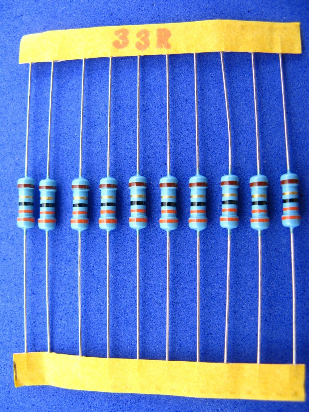 100 résistance 374ohm mf0207 metallfilm resistors 374r 0,6w tk50 1/% 032810